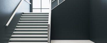 escalier acier